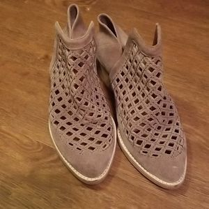 Jeffrey campbell perforated booties